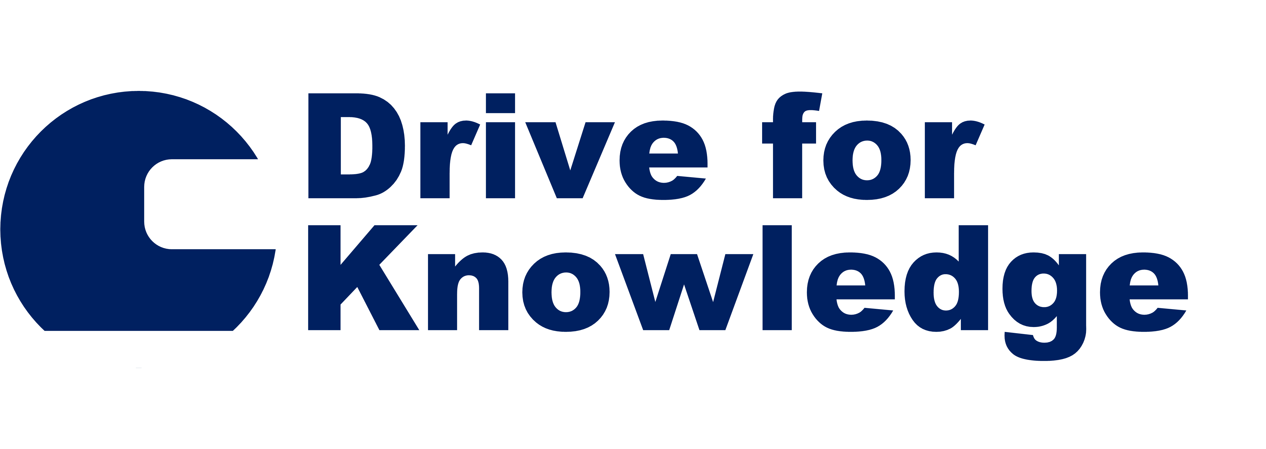 Drive for Knowledge