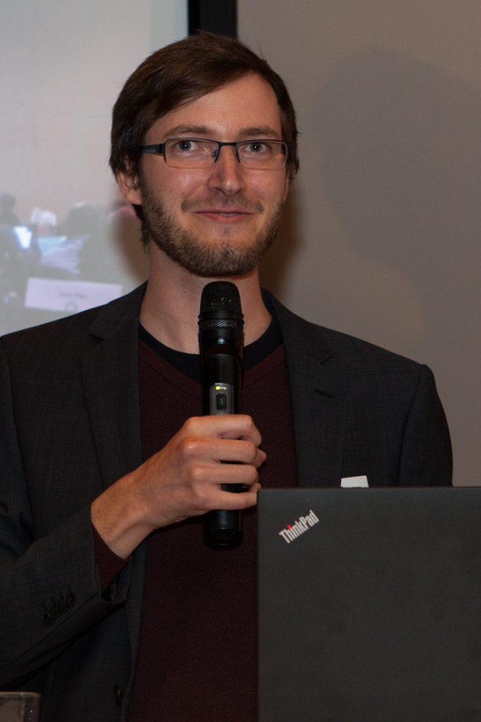 Emmanuel Helm bei der HL7 Jahrestagung 2017