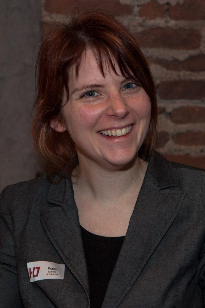 Barbara Franz bei der HL7 Jahrestagung 2017