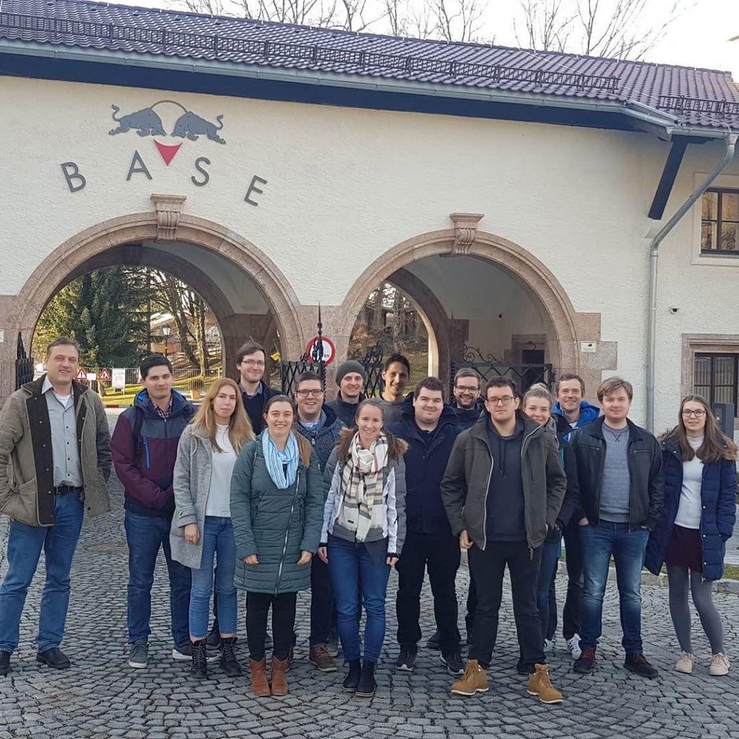 Visit to RedBull in Elsbethen
