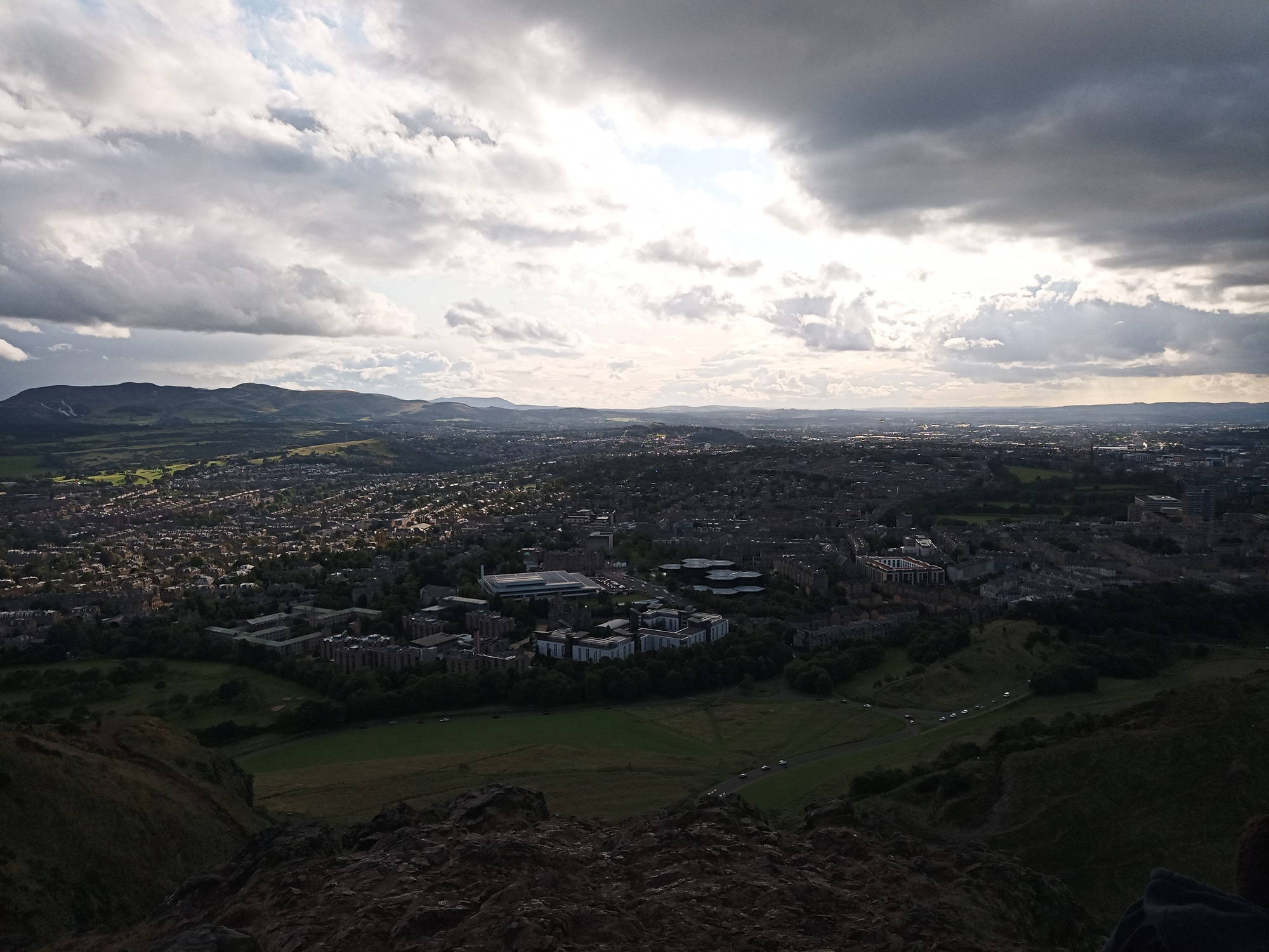 Also Edinburgh from above